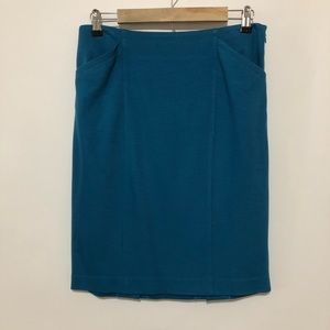 Cabi pencil spring midi length skirt size 4